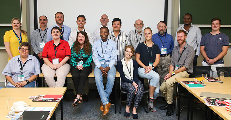 The collection of delegates who attended the workshop